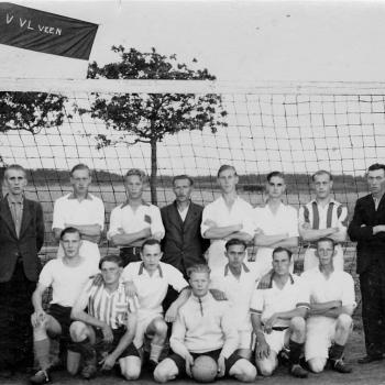 1948 op t terrein bij Ma en Izaak de Vries