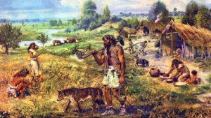 De eerste boeren