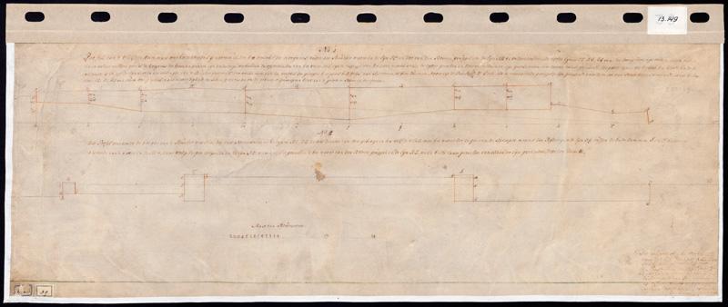 Hoogtekaart Vleddere Veen, 1782
