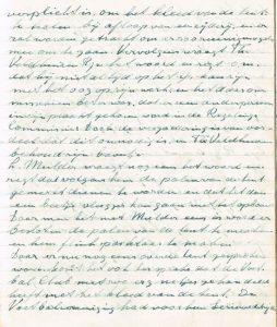 Voorbeeld handschrift notulen