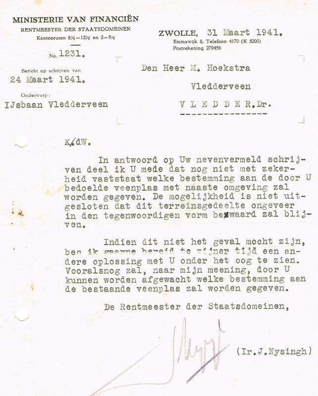 Bestemmingsplan Mannespoel 1941