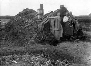 Plaggenhut, Drenthe 1936 (Bron: onbekend)