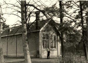 Rijksschool III te Boschoord (Bron: fledderkerspel.nl, Foto: R. Smits, Den Haag, mei 1955)