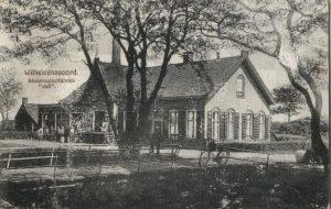 Foto 1 van Zuivelfabriek Deli te Wilhelminaoord omstreeks 1904 (bron: A.K. Bovenkamp, Fledderkerspel)