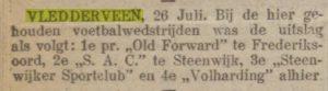 Artikel 26 juli 1922